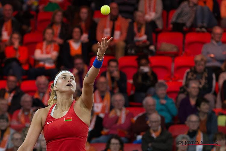 🎥 Sabalenka rekent eenvoudig af met Kuznetsova en staat als eerste in de finale in Qatar