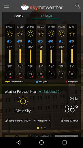 Skymet Weather 4.14 screenshots 2