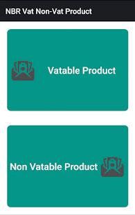 NBR VAT-Non VAT Item List - náhled
