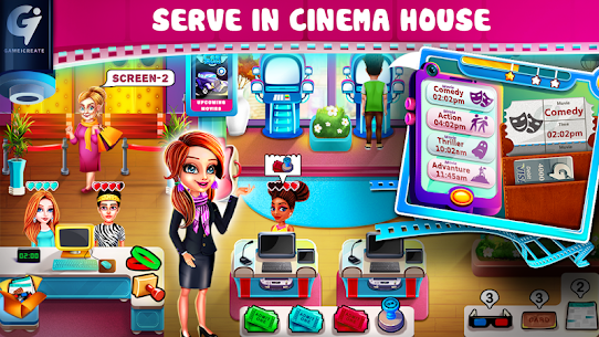 Hollywood Films Movie Theatre Tycoon Game MOD (Money) 1