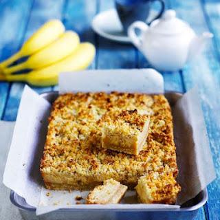 Banana Caramel Oat Slice Recipe