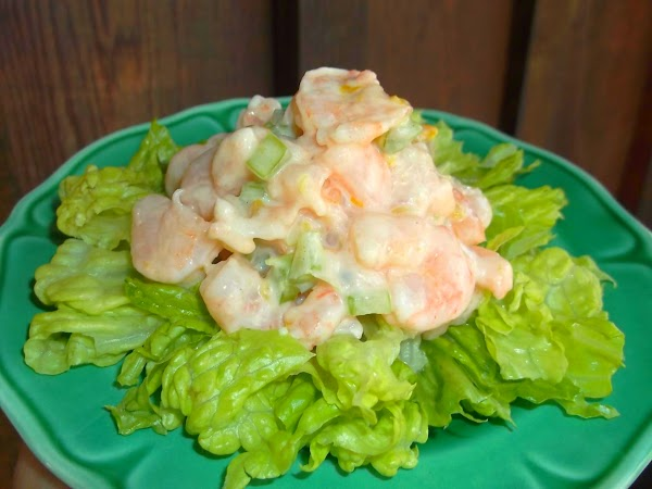 Serve on bed of torn or shredded lettuce or inside tomatoes that have been...