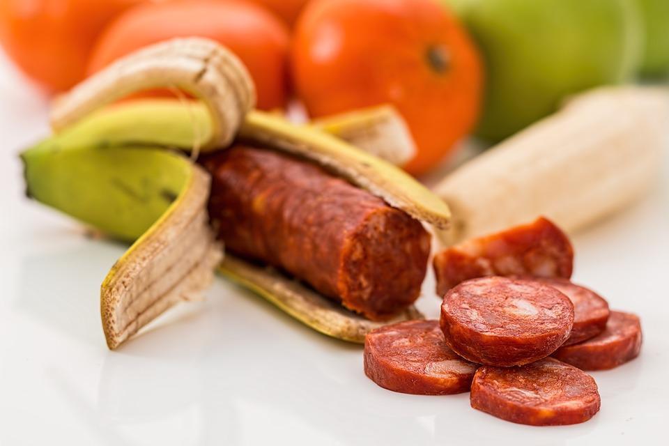 Г Пищи, Банан, Chourico