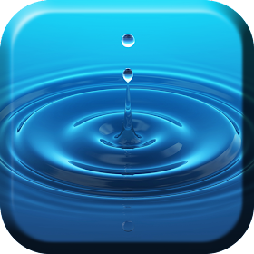 Капля воды Живые Обой