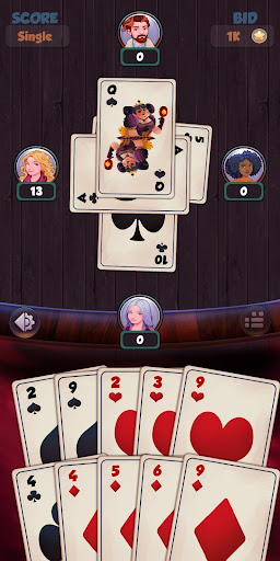 Hearts - Free Card Games 2.5.2 screenshots 4
