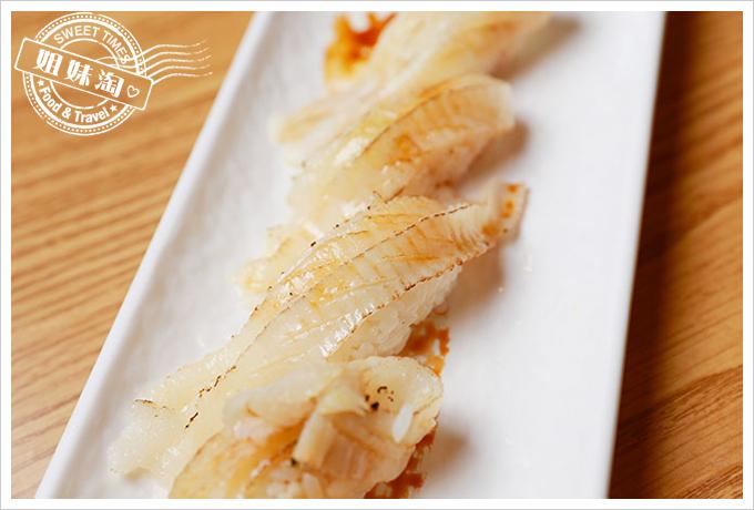 大手町日本料理炙燒比目魚握壽司3