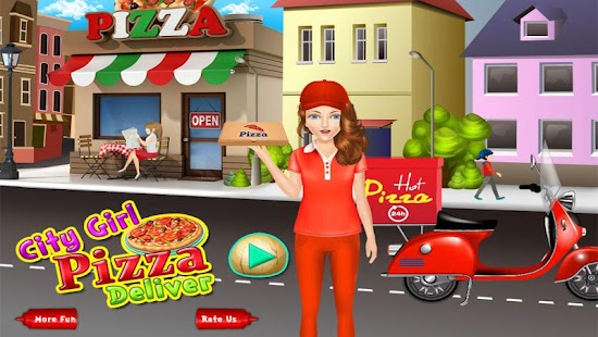 City Girl Pizza Delivery- screenshot thumbnail
