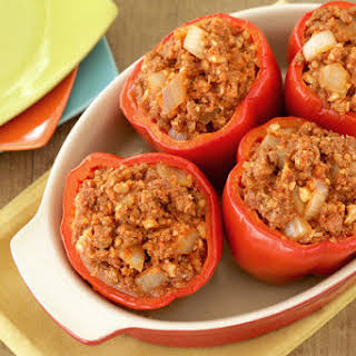 Stuffed Peppers With Ground Beef And Cream Cheese Recipes.