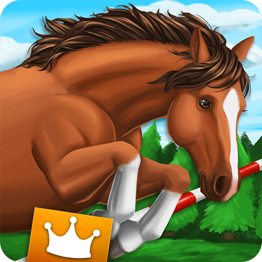 Horse World Showjumping Premium - for horse fans Icon