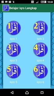 Belajar Iqro Lengkap screenshot