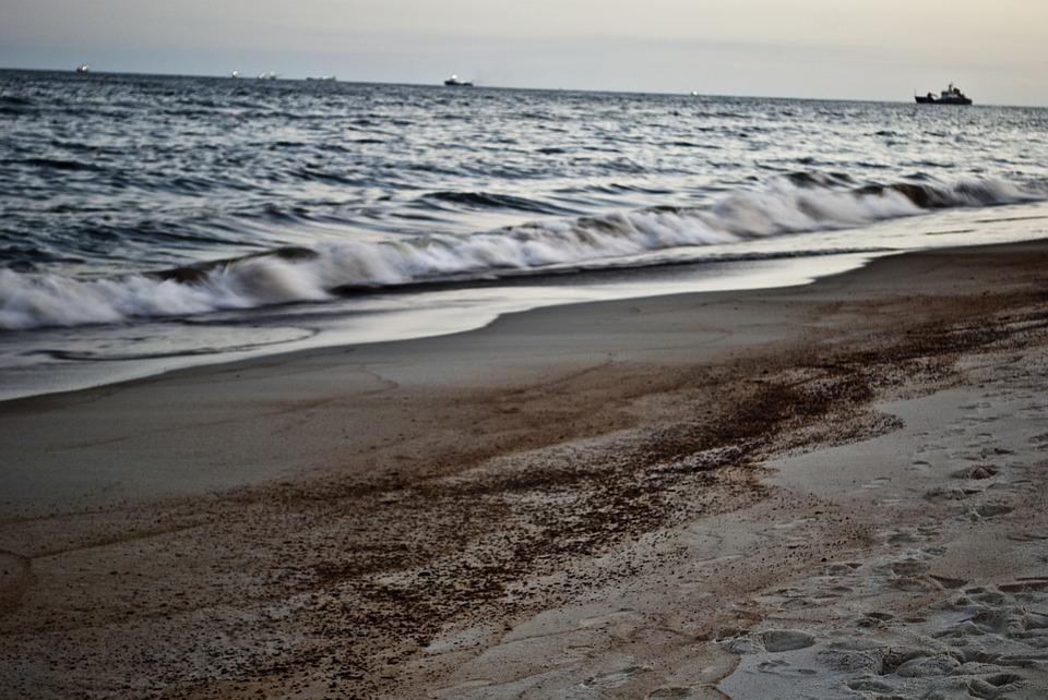 Beach, Ocean, Oil, Oil Spill, Sand, Vacation, Coast