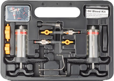 Jagwire Elite Mineral Oil Bleed Kit, includes Shimano Magura Tektro Adapters alternate image 0