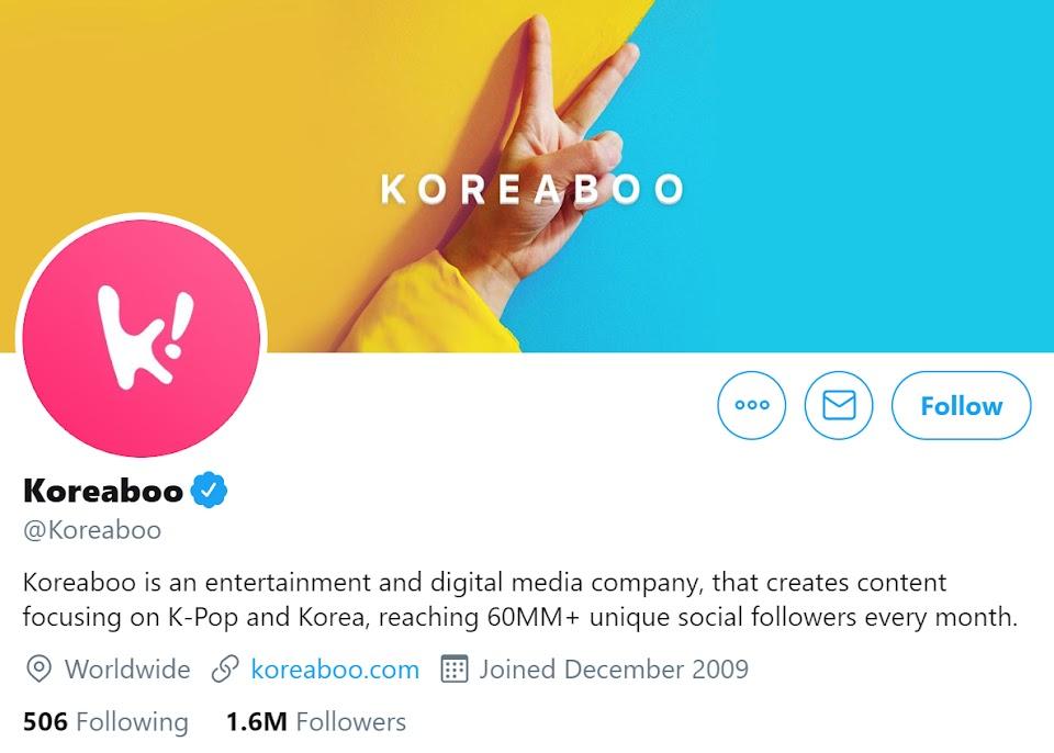 koreaboo twitter