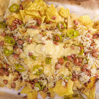Kielbasa Nachos with Beer Cheese and 'Kraut Recipe