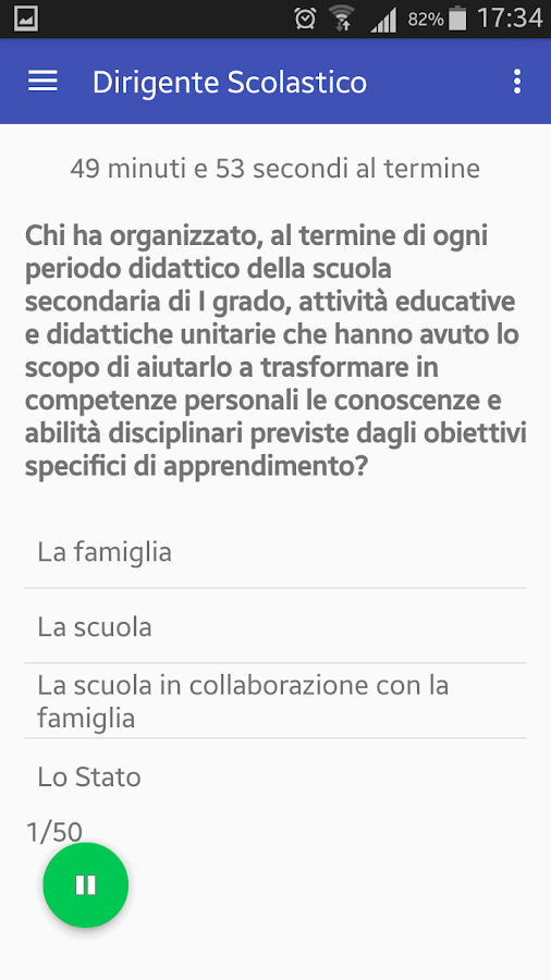 Quiz Dirigente Scolastico- screenshot