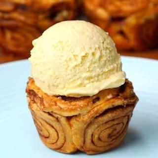 Muffin Tin Cinnamon Roll Apple Pies.