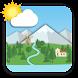 アニメーション風景予報ライブ壁紙 Animated Landscape Forecast FREE - Androidアプリ