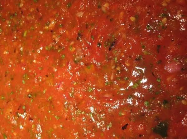 Roasted Roma Salsa