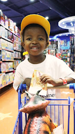 Four-year-old Lungelo Ntuli got to go on a private toy run after undergoing heart surgery.