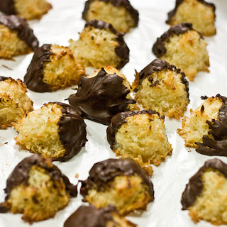 Caramelly Coconut Macaroons