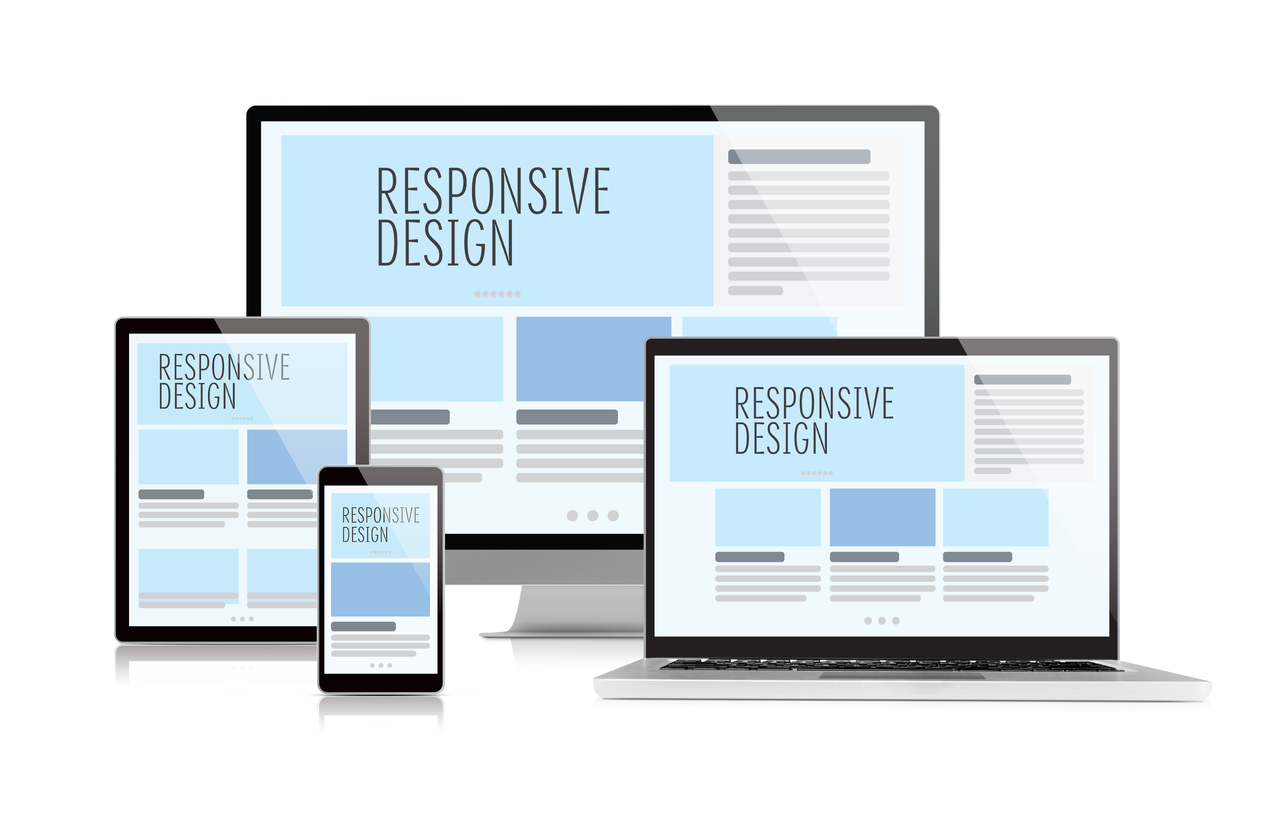 The History of Web Design responsive design