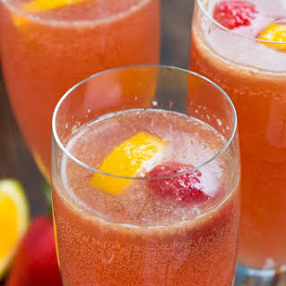 Pink Mimosa Punch.
