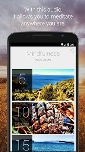 Mindfulness Guided Meditation- screenshot thumbnail