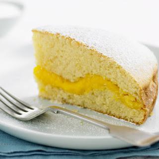 Vanilla Custard Cake.
