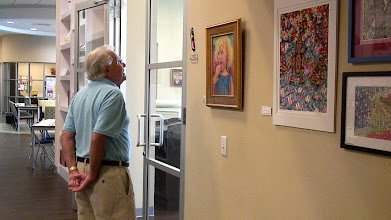 Photo: Sid / 4-21-13 Les & Sydelle Sher Art exhibit at Weissman Ctr