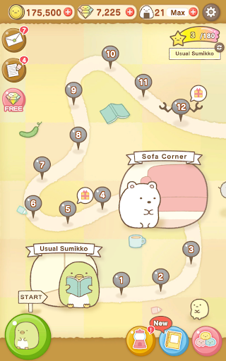 Sumikko gurashi-Puzzling Ways screenshots 11