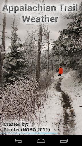Appalachian Trail Weather