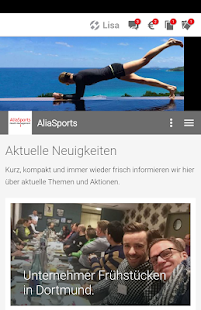 Aliasports - Healthmanagement- screenshot thumbnail