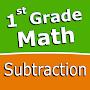 First grade Math  Subtraction временно бесплатно