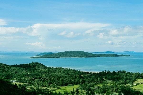 Tại Cô Tô còn có rất nhiều những đảo con khác nhau