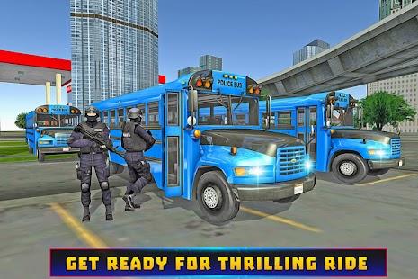 Police Bus Criminal Escape- screenshot thumbnail