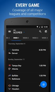 theScore: Sports Scores & News- screenshot thumbnail