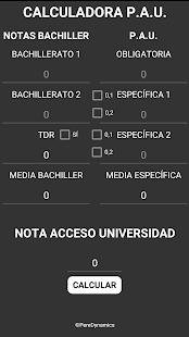 CALCULADORA P.A.U. - náhled