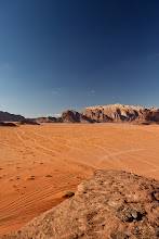 Photo: Expansive desert views from the Rakhabat al-Wadak