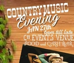 Country Music Evening : C11 Events Venue