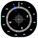 Compass with Android icon