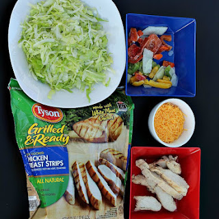Easy Fajita Chicken Salad