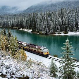 by Valerie Dyer - Transportation Trains