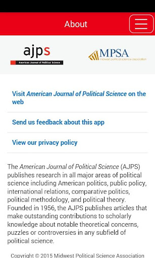 American Jnl of Political Sci