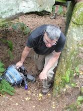Photo: En forêt de Fontainebleau, il faut savoir plier les genoux...