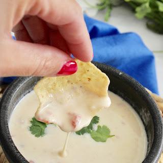 Cheese Queso Dip.