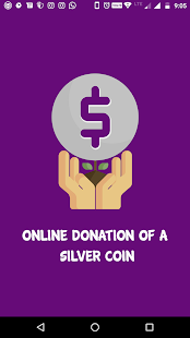 Online Donation Of a Silver Coin - náhled