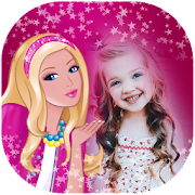 Barbie doll photo frames : Disney doll Photo frame