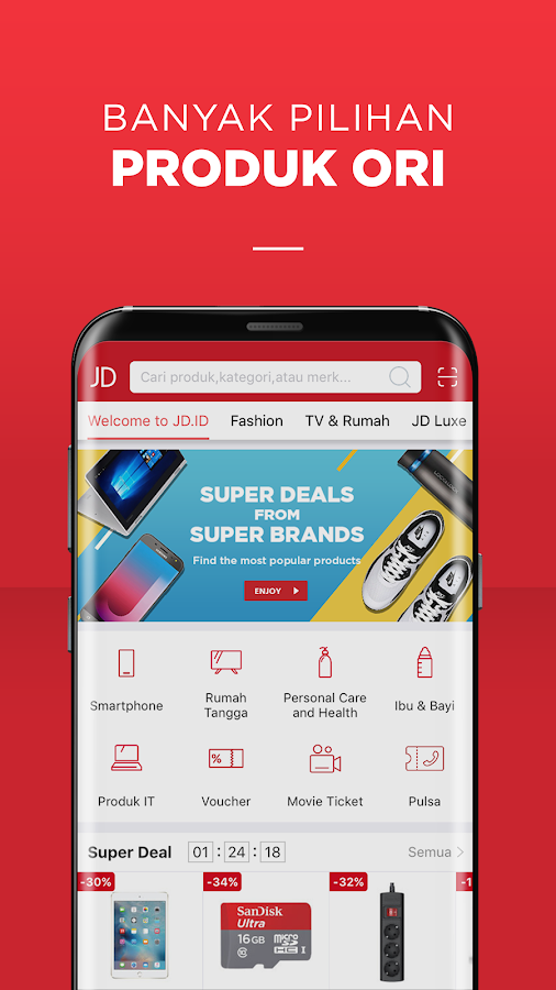 JD.id - Belanja Online #DijaminOri- screenshot