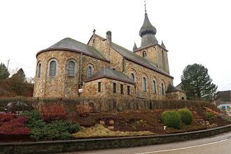 Photo: Église St André au clocher particulier