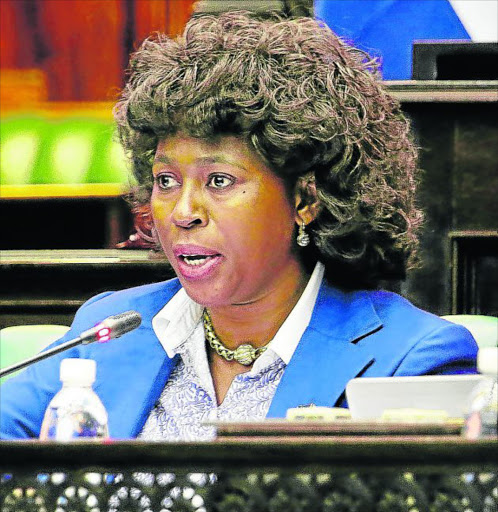 MP OF INTEGRITY: Dr Makhosi Khoza resigned from an 'alien and corrupt ANC'